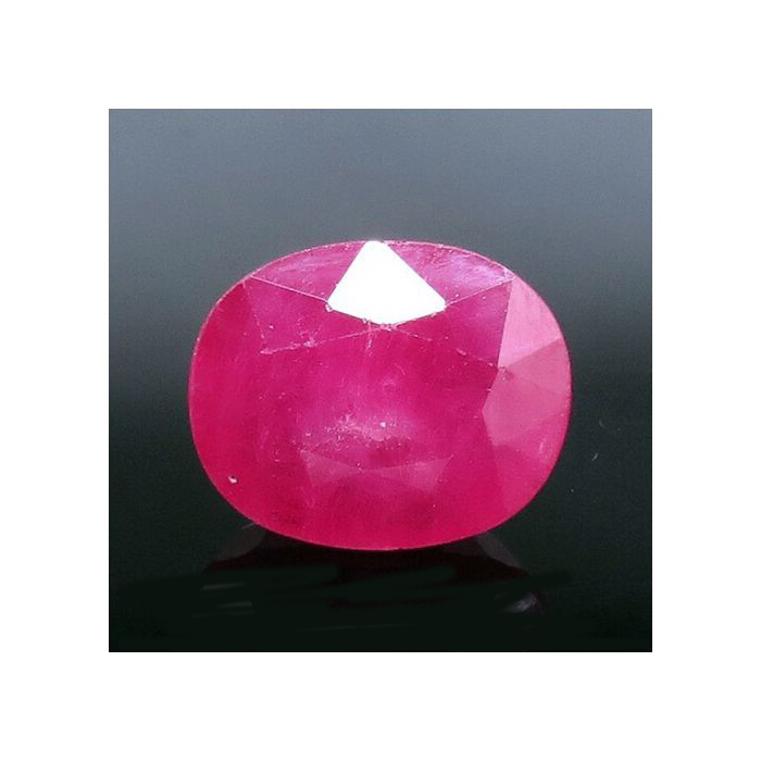 Natural Ruby Gemstone, 10.10 Carat/ 11.35 Ratti