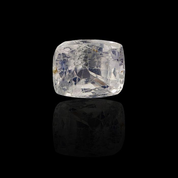 3.43 Carat/ 3.76 Ratti Natural Ceylon White Sapphire Gemstone