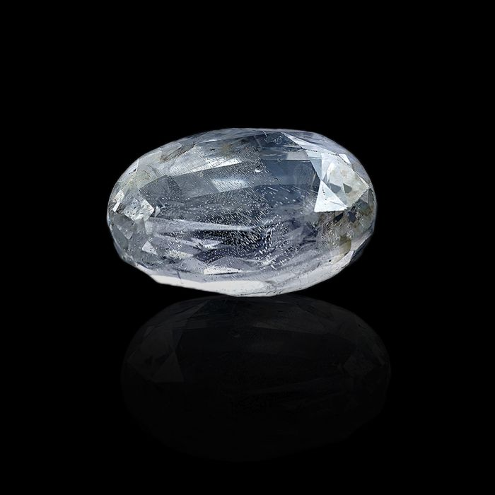 5.27 Carat/ 5.80 Ratti Natural Ceylon White Sapphire Gemstone
