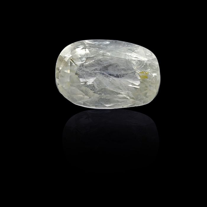 5.64 Carat/ 6.26 Ratti Natural Ceylon White Sapphire Gemstone