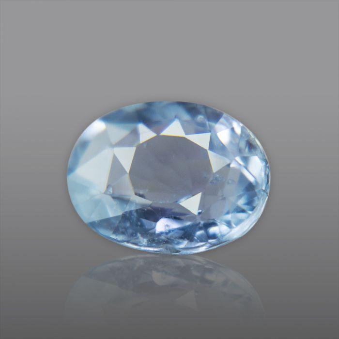 Natural Ceylon Blue Sapphire (Neelam) 4.53 Carat/ 5.05 Ratti