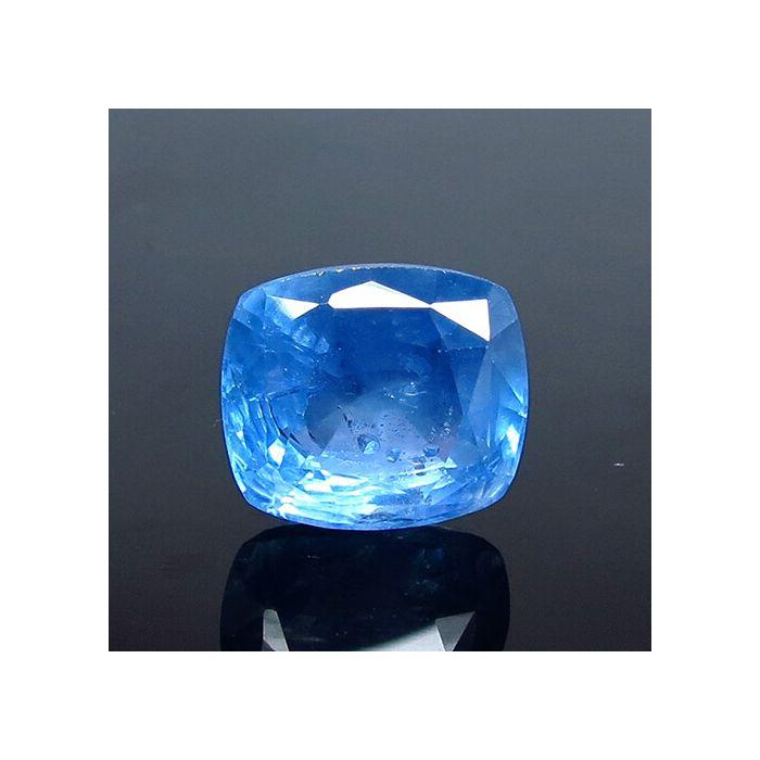 Natural Ceylon Blue Sapphire - 6.76 Carat
